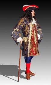 Captain Grimstocks new garb
