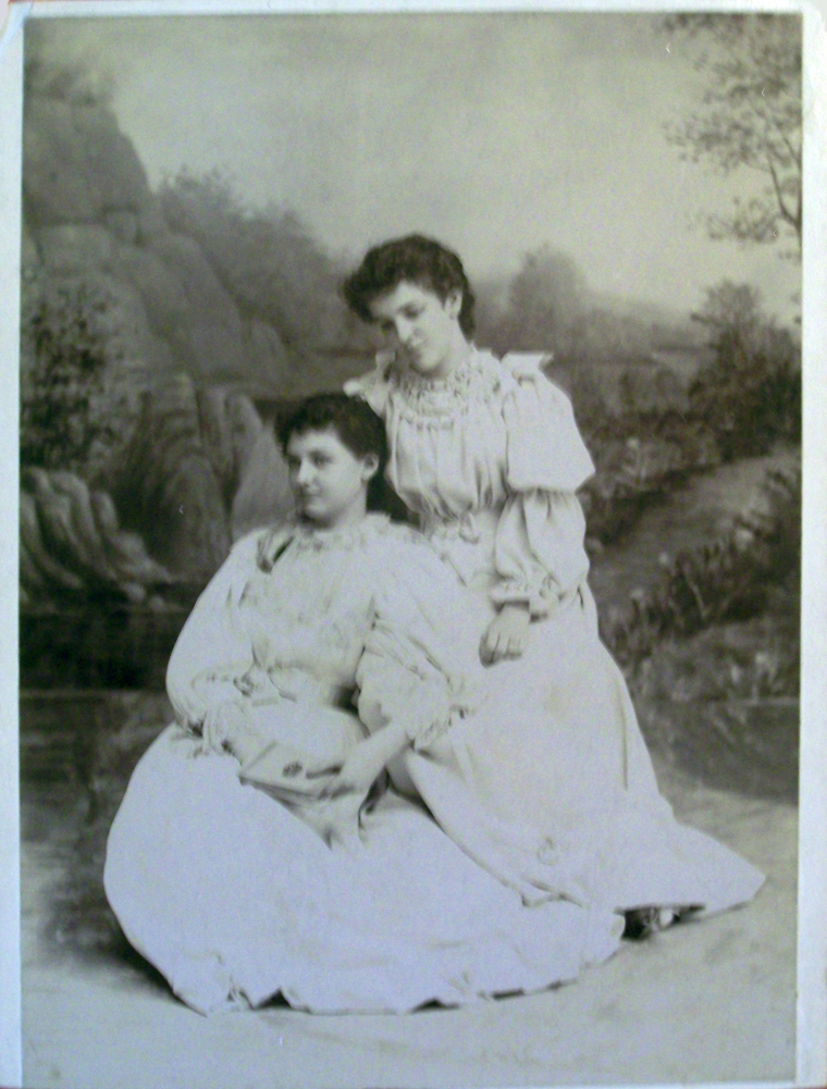 Nellie Stowell Howard and Stella Sexmith (cousins)